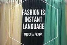 C'EST MA robe en mots / A dress. Thousand Words. Love. Une robe, des millions de mots.