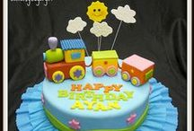Birthday cake ideas - Train / Ideas for Alexander's cake for his 2nd birthday :)!