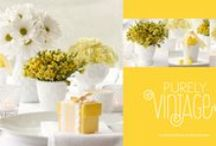 Yellow: wedding and event