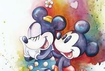 It all started with a mouse! / we love disney