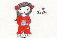 Addicted to books / reading books
