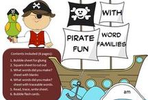 Pirate Themed Materials