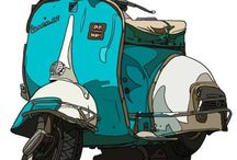 Vespa & other Scoots / by Ralph