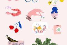 Flow | Illustrations / Des illustrations, des dessins, des affiches vintages