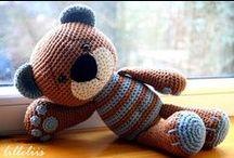 Вязаные игрушки/amigurumi / Вязанные игрушки, вязание, knitting
