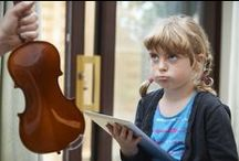 Practice Tips / Playing a musical instrument is already hard, getting kids to practice can seem impossible. Try some of these cute ideas to create a family of musical smiles instead of tears.