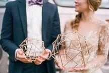 MOODBOARD // Koper // Copper / Moodboard met copper accents in de wedding styling.