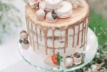 Bruilofttaarten // Wedding Cakes / Laat je in dit board inspireren met de lekkerste en mooist ogende wedding cakes!