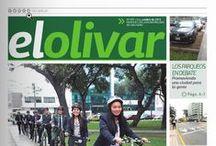 """Periódico """"El Olivar"""" / Publicación Oficial de la Municipalidad de San Isidro"""