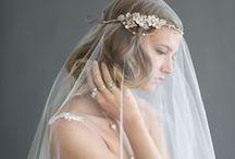 Sluiers // Veils / De mooiste veils die je weddingdress helemaal afmaken!