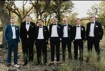 Bruidsjonkers // Groomsmen / Laat je inspireren met de mooiste pakken en accessoires voor jouw bruidsjonkers.