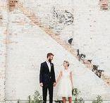 MOODBOARD // Industriële bruiloft // Industrial Wedding / In dit board wat uiteenlopende styling tips voor een urban, rustic industrial wedding.