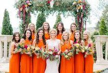 MOODBOARD // Nederlandse bruiloften // Dutch Weddings / Oranje is de kleur van Nederland, zoals iedereen de laatste jaren wel gezien heeft op bijvoorbeeld het WK voetbal. Toch is de kleur orange weer back in fashion! Laat je in dit board inspireren hoe je deze kleur kan combineren in de weddingstyling om zo er een persoonlijke touch aan te geven.