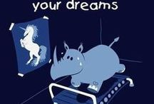Project SVD / I'm doing some of the things in this board to lose weight and it works so far. It also contains inspirational quote to keep me going when I'm moody. I hope that one day, like in the picture, I become the Unicorn and no longer be the rhino! :]