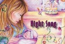 Night Song Collection / Single from Award Winning Lullaby Cd, Carousel Dreams - a Collection of Lullabies #babymusic #NightSong #soothing #music #babies #song #lullaby #lullabies / by MoonDreams Music Recording Group, LLC