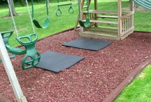 Rubber Mulch Products / Perfect Rubber Mulch for landscapes,playgrounds,horse footing and sports fields in bulk at wholesale pricing.