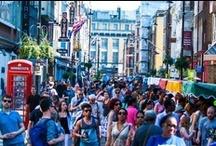 Soho Flea Market 2013 / 2 June 2013 - Dean Street, Soho, London.  What brilliant stallholders!