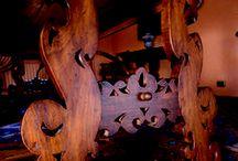 Casa Superga - Moncalieri (TO) - Italy / • ARTE ROVERE ANTICO IN COLLABORAZIONE CON IL PADRONE DI CASA • Casa signorile sulle colline di Moncalieri, Torino. Un'abitazione elegante e raffinata, in cui l'eccellenza dei materiali si fonde con la pregevole fattura delle lavorazioni per dar vita ad un insieme armonioso.  Ogni singolo dettaglio, è stato definito con la massima cura, con l'unico obiettivo di valorizzare al meglio l'appeal estetico della casa e la sua atmosfera calda e accogliente.