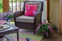 veranda, terasz / porch, terrace