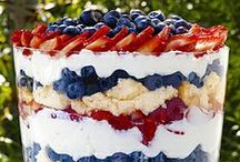Fourth of July! / Celebrate Independence Day with any of these patriotic dishes!