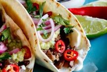 Mexican Food Fiesta / We want to spice up your day by sharing lots of great Mexican dishes!  Take a look at these.