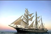 Le Belem / Le Belem (1896) est le dernier trois-mâts barque français, le plus ancien trois-mâts en Europe en état de navigation et le second plus grand voilier restant en France.
