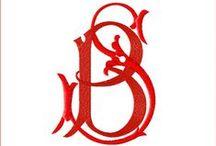 Letter B, Letter S / literki