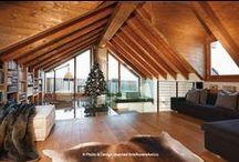 Casa Soppalco Vetro - Sestriere - Italy / Design by • ARTE ROVERE ANTICO •