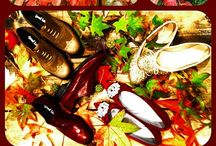 Winter Collection #AutumnColour / Italian women's shoes