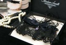 Black Garters / www.madamsuzette.com