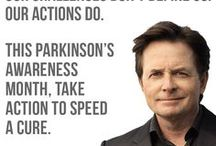 Parkinson's Awareness Month / Show your support for The Michael J. Fox Foundation and Parkinson's research.