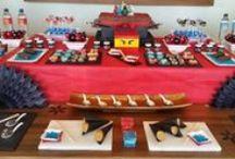 Lego Ninjago - Festa infantil oriental ninja! / Festa de menino com um tema bem diferente: Lego Ninjago! Decoração incrivelmente divertida com um clima todo oriental ninja! Confira as fotos. ...