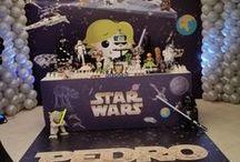Super Festa Star Wars / Fantástica festa Star Wars: Toda a decoração foi baseada na saga, trazendo aos convidados a sensação de estar em um lugar muito muito distante! Confira. Decoração by Solange Alcantara