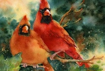Paintings - Birds & Animals / by Lynda Noel