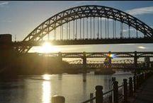 Newcastle / Newcastle heeft ons hart gestolen, dat van jullie ook? Met dit bord maak je kennis met de charme van onze favoriete Engelse stad!