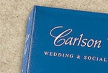 Carlson Craft Blue Wedding and Social Stationery Invitations / Blue Wedding and Social Stationery at 35% off retail! / www.invitationdiscounters.com