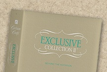 Carlson Craft Exclusive Collection II Invitations / We carry the entire Exclusive Collection II / www.invitationdiscounters.com