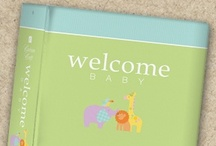 Carlson Craft Welcome Baby Invitations / Welcome Baby Invitations 35% off retail! / www.invitationdiscounters.com