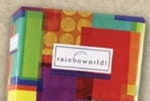 Mcphersons rainboworld invitations / Rainboworld Wedding Invitations 35% off retail! / www.invitationdiscounters.com