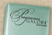 Mcphersons Programs Galore Wedding Programs / Programs Galore Wedding Programs 20% off retail! / www.invitationdiscounters.com