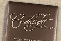 Carlson Craft Candlelight Collection Wedding Invitations / Candlelight Collection Wedding Invitations 35% off retail! / www.invitationdiscounters.com