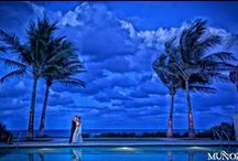 Boca Beach Club Weddings / The Boca Beach Club is the perfect choice for an elegant beach wedding. Host an intimate wedding ceremony at the edge of the Atlantic Ocean on our half-mile white sand private beach. www.bocaresort.com/weddings