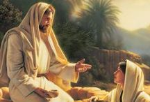 JESUS / And a voice spoke from heaven saying, This is My beloved Son who brings Me great joy. Matthew 3:17 / by Sherry Mathis