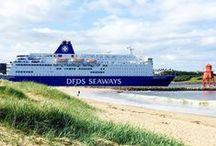 DFDS - Instagram / De bestemmingen waar de schepen van DFDS aanmeren zijn van zichzelf al prachtig... Maar met een instagram-filtertje erover wil je helemaal direct op reis. Love it!