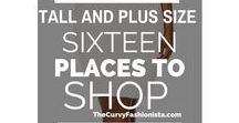 Plus Size Fashion Inspiration / Outfit & clothing ideas for plus sized women
