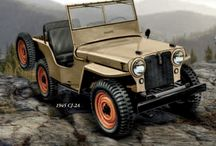 Jeep CJ / These are Jeeps built the way God intended.  / by David Novak