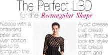 Plus Sized Rectangular Shape / Outfits & clothing that are flattering for the plus sized rectangular body shape