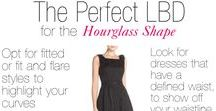 Plus Sized Hourglass / Outfits & clothing that are flattering for the plus size hourglass body shape