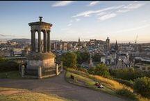 Edinburgh / Edinburgh is een heerlijke stad voor een citytrip. Een bezoek aan het Edinburgh Castle, slenteren over de beroemde Royal Mile... Heerlijk! Klik door op de foto's en je komt op het blog van DFDS meer te weten over deze toffe stad.