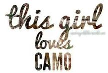 This Girl Loves Camo! / by Lora Hendrix